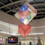 Elementi scenografici per evento Centro Commerciale