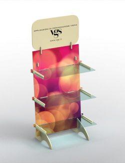 Jagoda legno e plexiglass 60x42x110